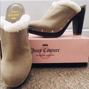 Juicy Couture chunky heel shoe